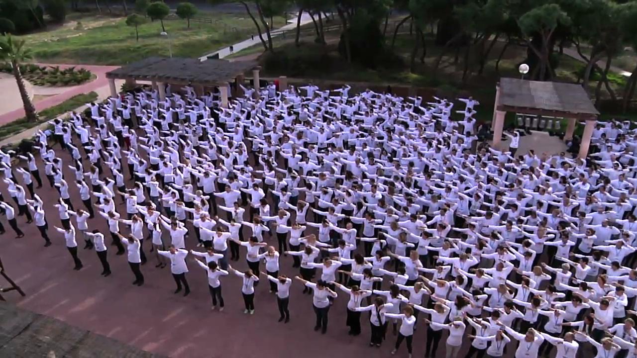 Flash Mob pour 1000 personnes à Séville.
