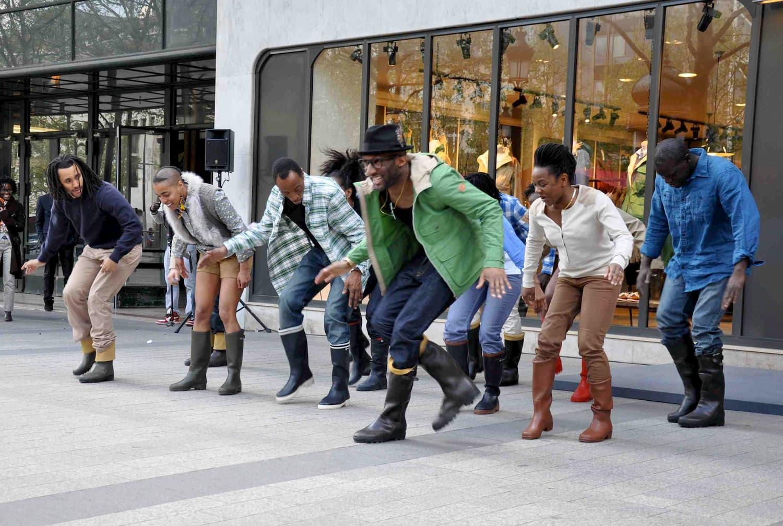 Tournage d'un Flash Mob