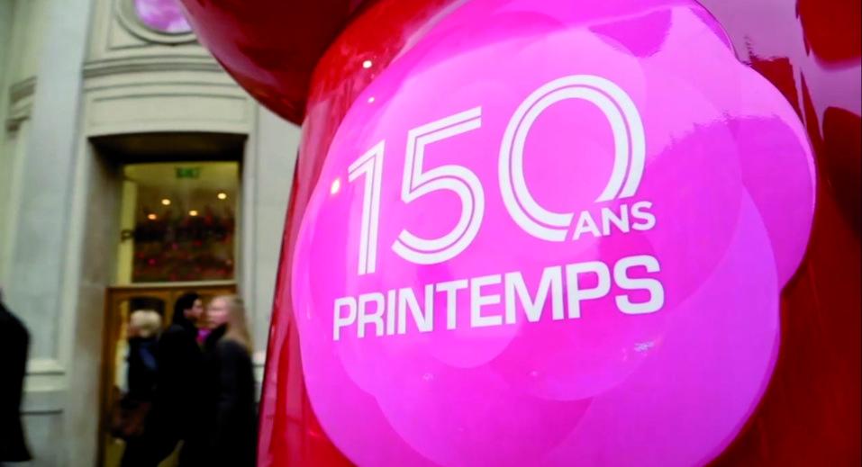 Flash Mob 150 ans du Printemps