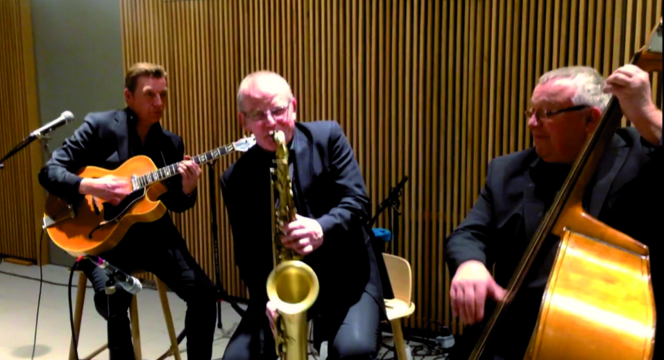 Trio de Jazz tout en discrétion