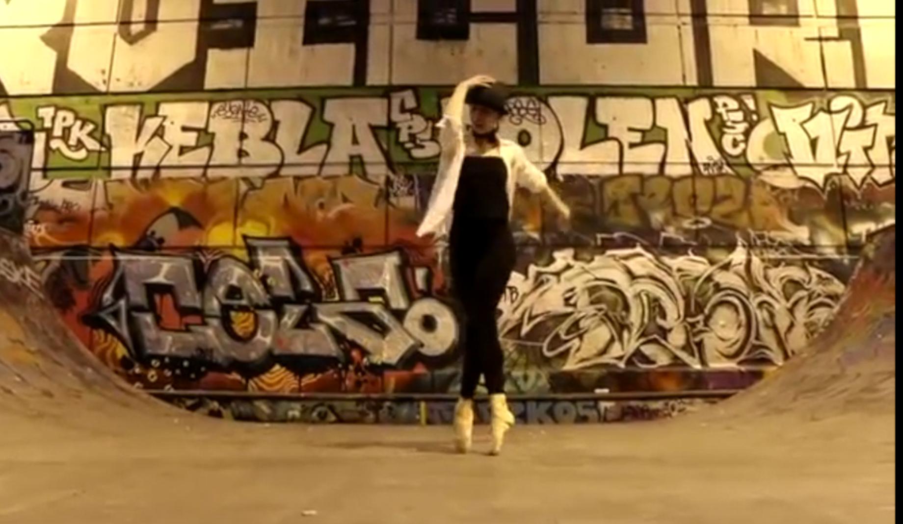 Une danseuse à la rencontre de la technique classique et du Hip hop